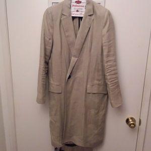 Zara Long Beige Coat
